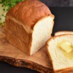 食パンにバター
