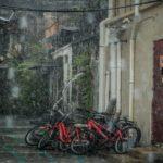 台風の時に外にある自転車を傷つけずに守るための対策は?
