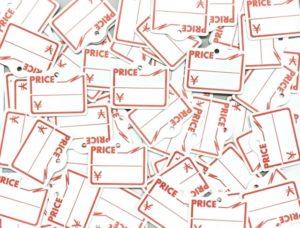 バザー商品の値札の付け方は?ぬいぐるみや細かい物にはどうつける?
