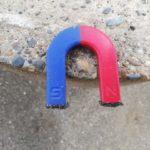 砂鉄が磁石にくっついて取れない時の落とし方とくっつけない対策