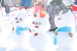 湿雪と乾雪の違いは?雪だるまが作りやすいのはどっち?スノボやスキーには?